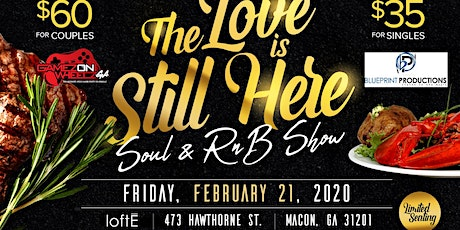The Love Is Still Here! Soul and R&B Show! tickets