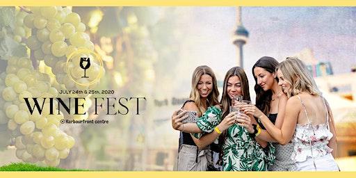 Wine Fest Toronto - 2020