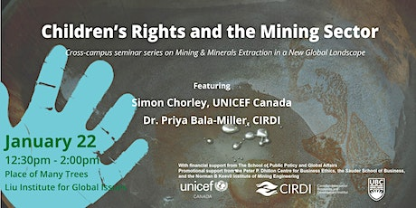 Children's Rights and the Mining Sector tickets