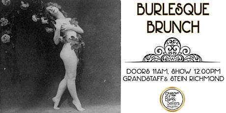 Burlesque Brunch April tickets