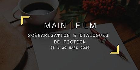Scénarisation et dialogues de fiction billets