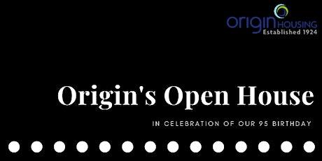 Origin's Open House Event tickets