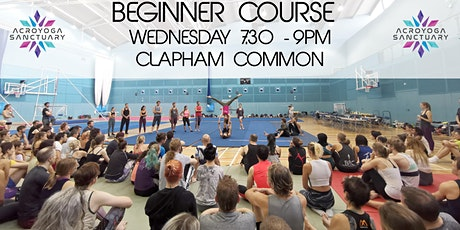 Acroyoga Sanctuary Beginner Course Wednesday tickets