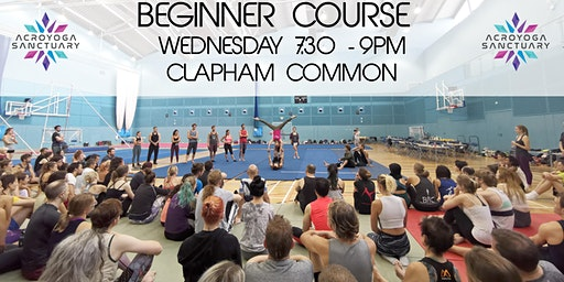 Acroyoga Sanctuary Beginner Course Wednesday