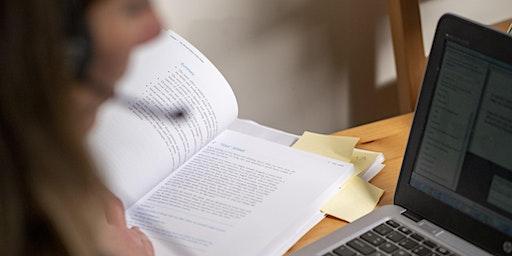 Essay writing (19:00 - 20:00)