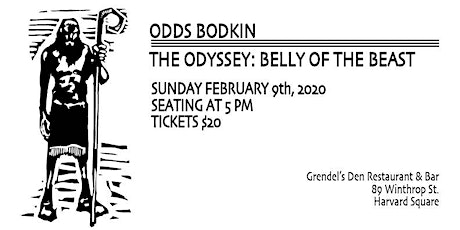 Odds Bodkin - The Odyssey: Belly of the Beast tickets