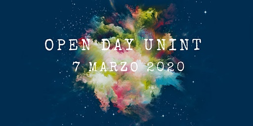 Open Day - 7 marzo 2020