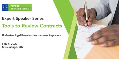 RIC Centre Expert Speaker Session: Tools to Review a Contract tickets