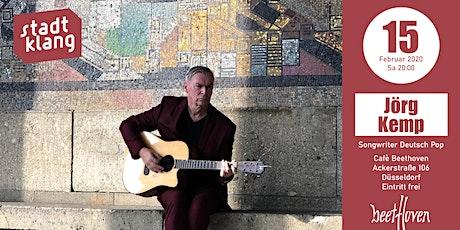 «stadtklang» mit Jörg Kemp / live im Café Beethoven Tickets