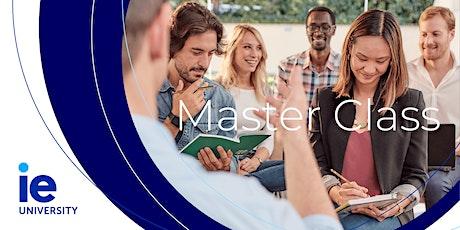Master Class Jobs of the future y Sesión informativa IE entradas