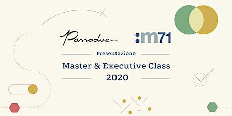 Presentazione Master and Executive Class 2020 biglietti