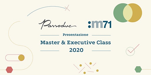 Presentazione Master and Executive Class 2020