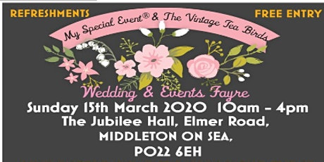 Wedding & Events Fayre tickets