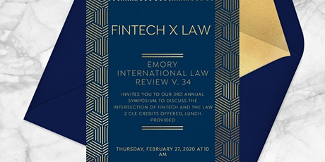 2020 Emory International Law Review Symposium tickets
