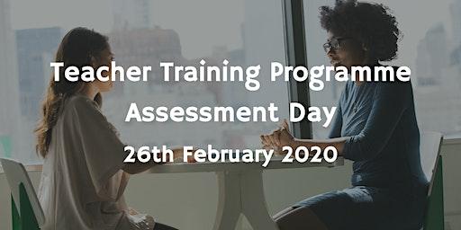 Teacher Training Programme Assessment Day