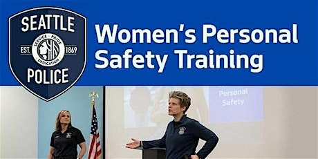 Women's Personal Safety Training tickets