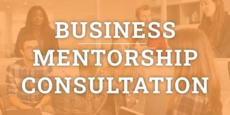 Business Mentorship, Advice & Consultation tickets