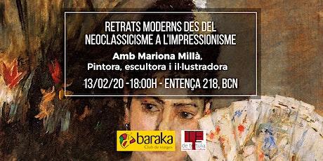 Retrats moderns des del neoclassicisme a l'impressionisme entradas