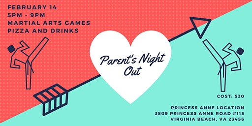 Parents Night Out for Valentine's Day
