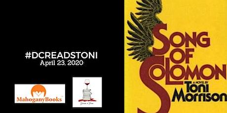 #DCReadsToni presents SONG OF SOLOMON by Toni Morrison  tickets