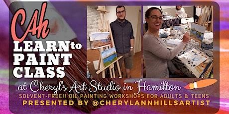 Oil Painting Workshop at Cheryl's Art Studio tickets