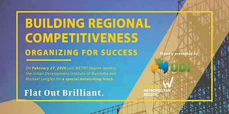 Building Competitiveness: Organizing for Success tickets