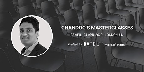 Chandoo's London Masterclasses tickets