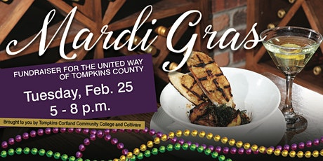 Mardi Gras Fundraiser for United Way of Tompkins County tickets