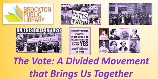 One Vote Matters! Kick-Off for 10-month series Suffrage Centennial events