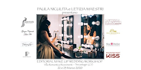 EDITORIAL MAKE UP WEDDING  WORKSHOP - MARZO  2020 biglietti