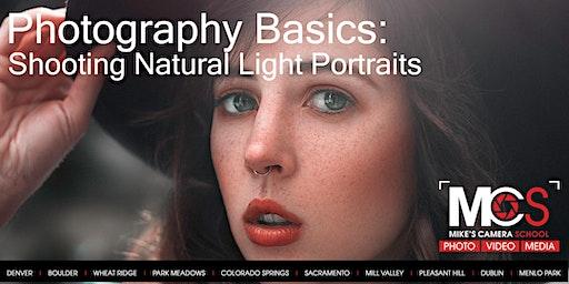 Photography Basics: Taking Natural light portraits
