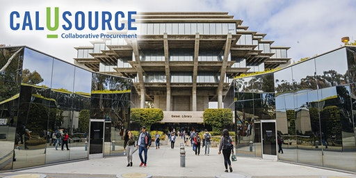 2-Day CalUsource Walk-Through and Comprehensive Training at UC San Diego