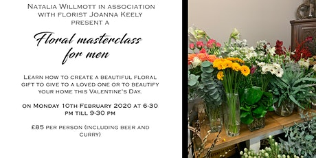 Floral Masterclass for Men tickets