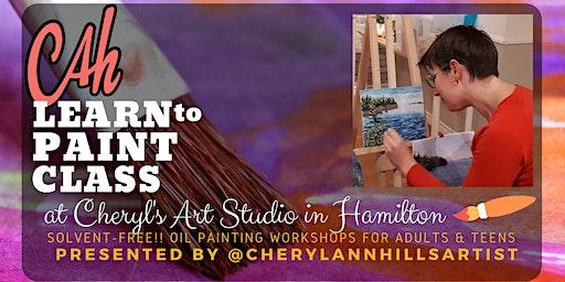 Oil Painting Workshop at Cheryl's Art Studio