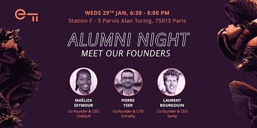 Alumni Night - Meet our founders