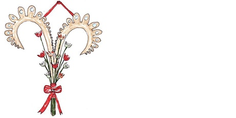 Valentine's Wreath Workshop Inspired by the Jewelry of Downton Abbey tickets