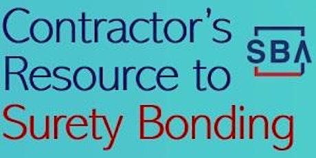 Contractor's Resource to Surety Bonding tickets