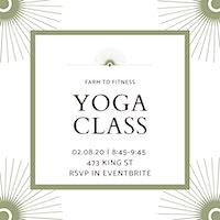 CBD Yoga Class