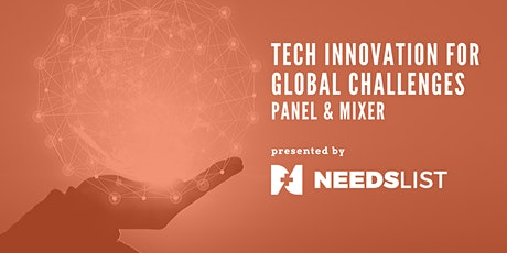 Tech Innovation for Global Challenges tickets
