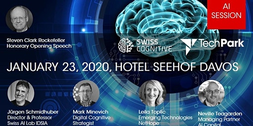TechPark Davos Conference 2020 - AI Session