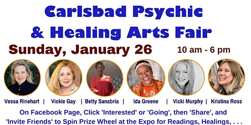 Carlsbad Psychic and Healing Arts Fair