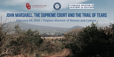 John Marshall, the Supreme Court and the Trail of Tears tickets