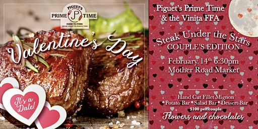 Steak Under the Stars - Valentine's Day