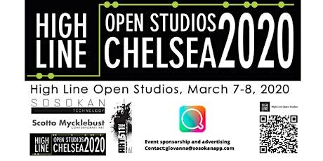 March 7-March 8 -High Line Open Studios 2020 X Sosokan Technology tickets