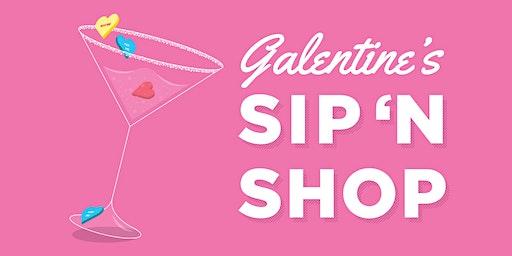 Galentine's Day Sip 'n Shop