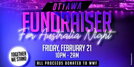 Ottawa Fundraiser for Australia tickets