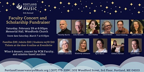 3rd Annual Faculty Concert and Scholarship Fundraiser tickets