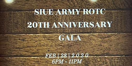 SIUE Army ROTC 20th Anniversary Gala
