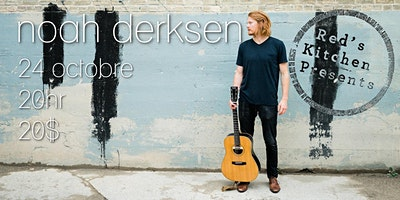 Noah Derksen live @ Red's Kitchen