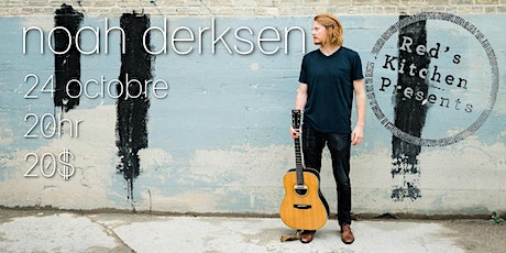 Noah Derksen live @ Red's Kitchen tickets